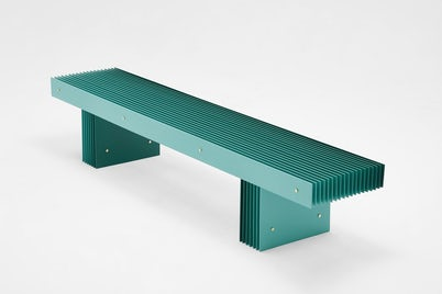 Grid Bench Green