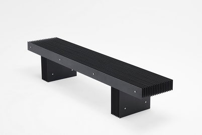 Grid Bench Black