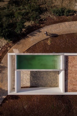 House in Messines by Vitor Vilhena