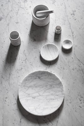 Ellipse Marble Collection by John Pawson for Salvatori