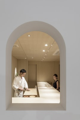 Sushi Isono by Jun Igarashi Architects