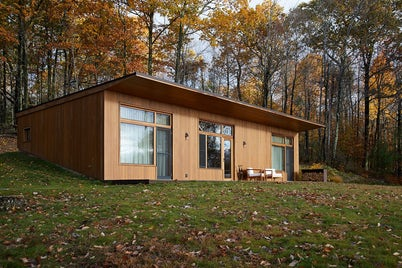 Guest House in Hudson Woods by Magdalena Keck