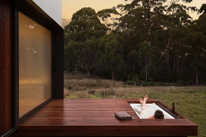 Bruny Island Hideaway Cabin by Maguire and Devine Architects