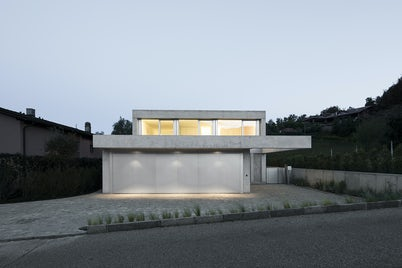 Concrete Villa Comano by DF_DC