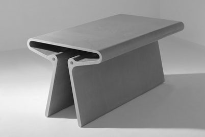 Extruded Tables by Marc Newson