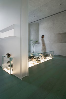 Exhibition of Frozen Time by Waterfrom Design