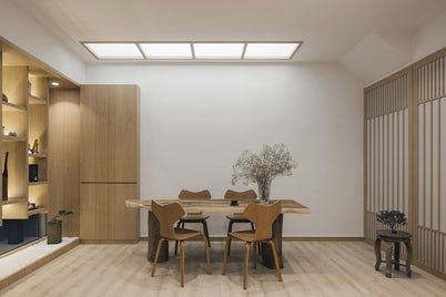 Minimal Reading Room by Right Angle Studio