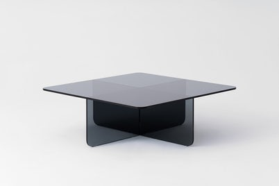 EQ3 Verre Square Coffee Table