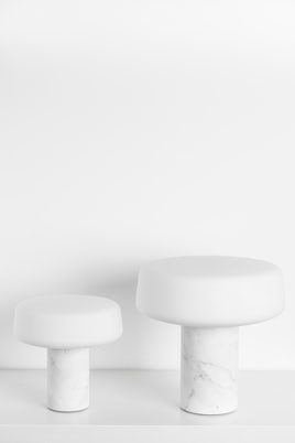 Terence Woodgate Marble Table Light