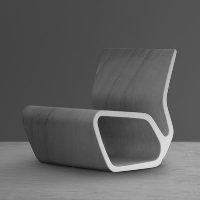 Extruded Chair by Marc Newson for Gagosian Gallery