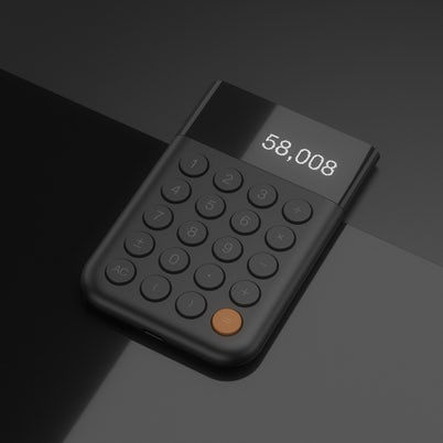 Calculator by Dustin Brown